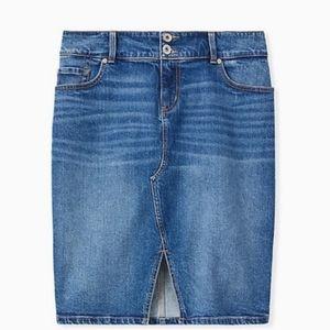 Torrid - BNWT Denim Skirt 16